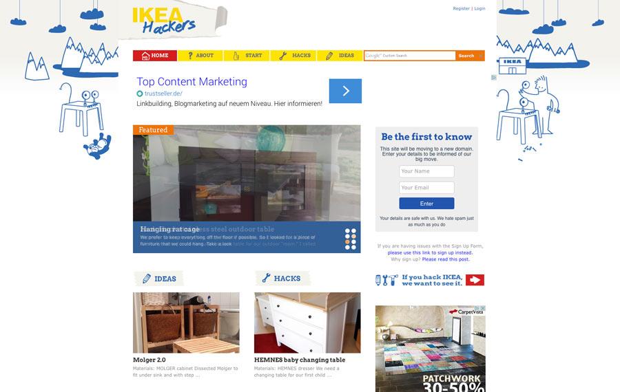 Der IKEA Blogger-Relations Super-GAU wegen IKEA-Hackers