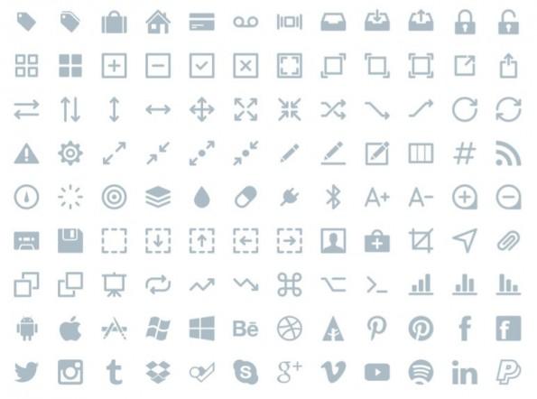 300 Vektor Icons von Ikons