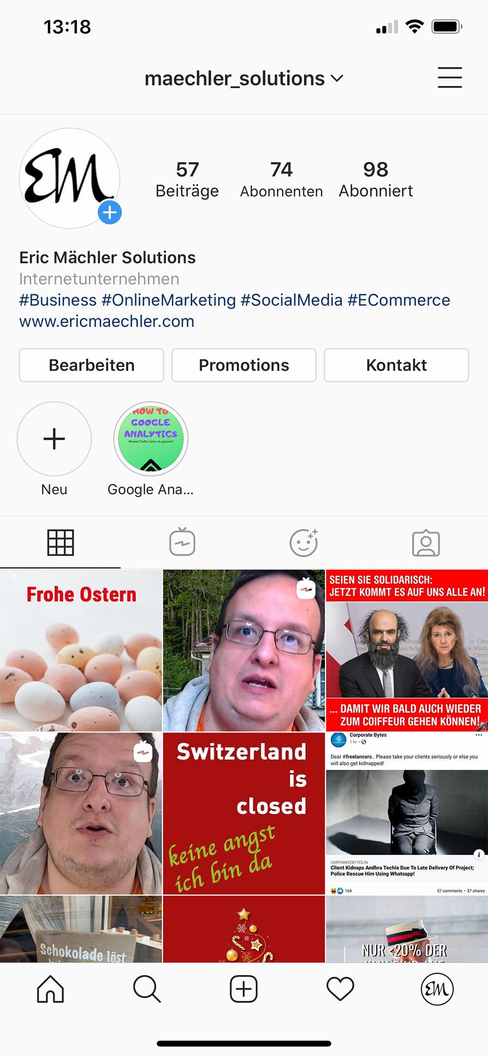 instagram 2020 filter 2 - Instagram Filter mit Profil verknüpft.
