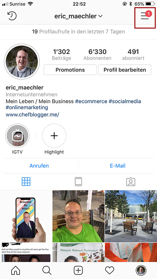 instagram account verifizierung 2 - Instagram Account verifizieren - so geht es
