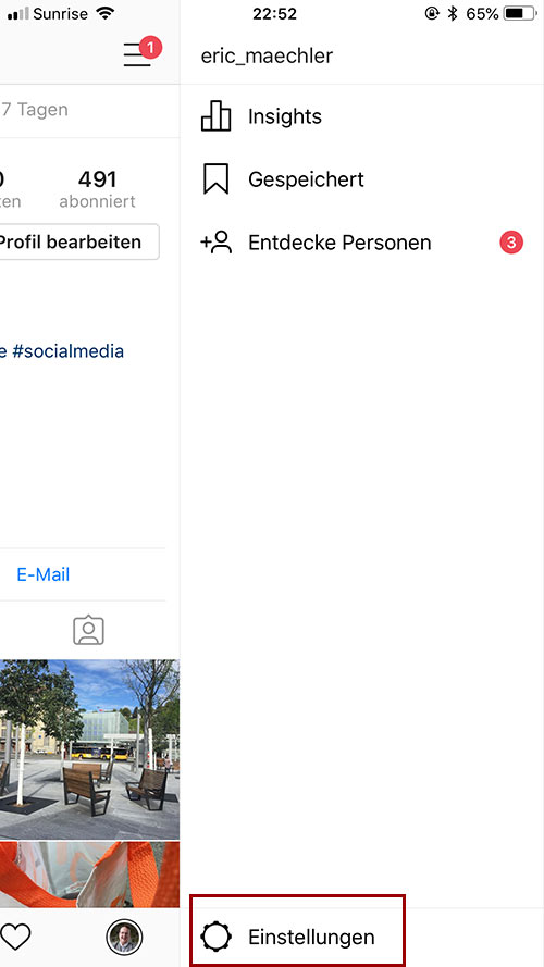 instagram account verifizierung 3 - Instagram Account verifizieren - so geht es