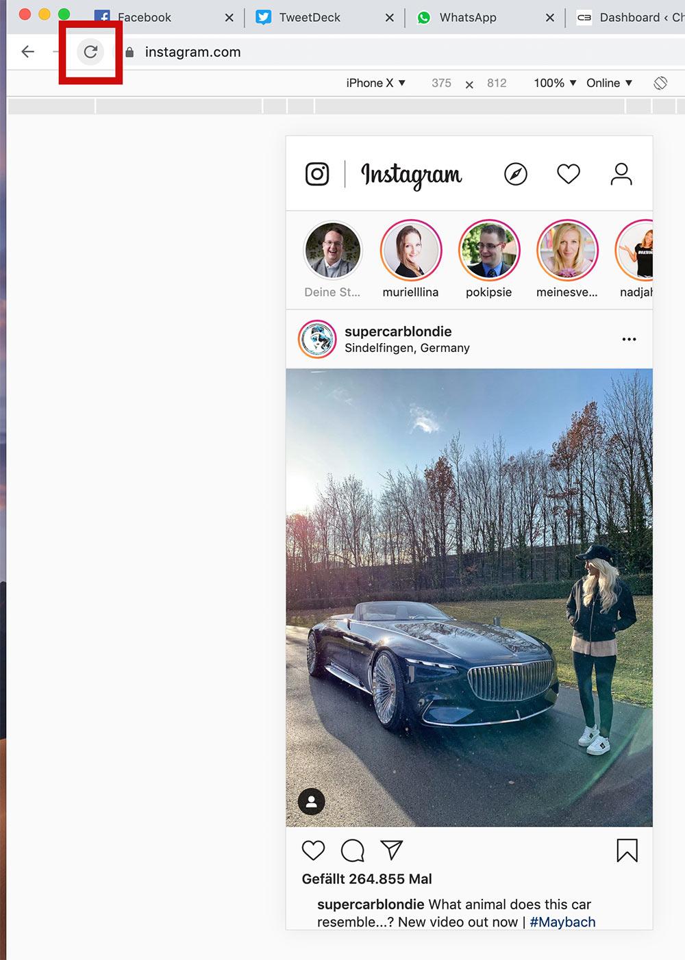 instagram anleitung posten pc mac 3c - Bilder auf Instagram mit PC oder Mac hochladen