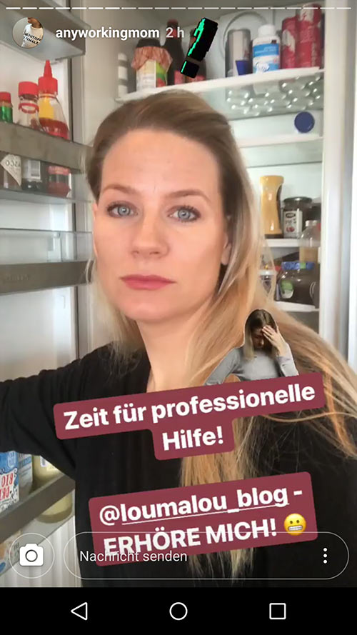 instagram story anyworkingmom loumalou 5 - Instagram Stories im Einsatz