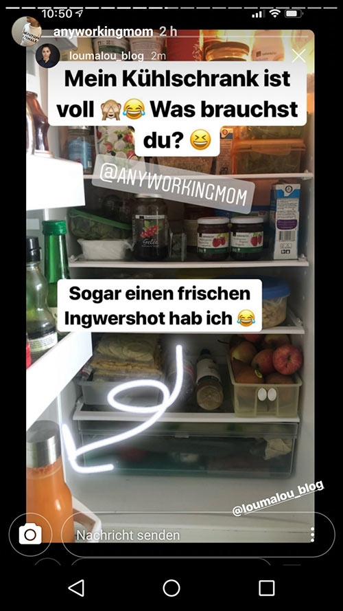 instagram story anyworkingmom loumalou 8 - Instagram Stories im Einsatz
