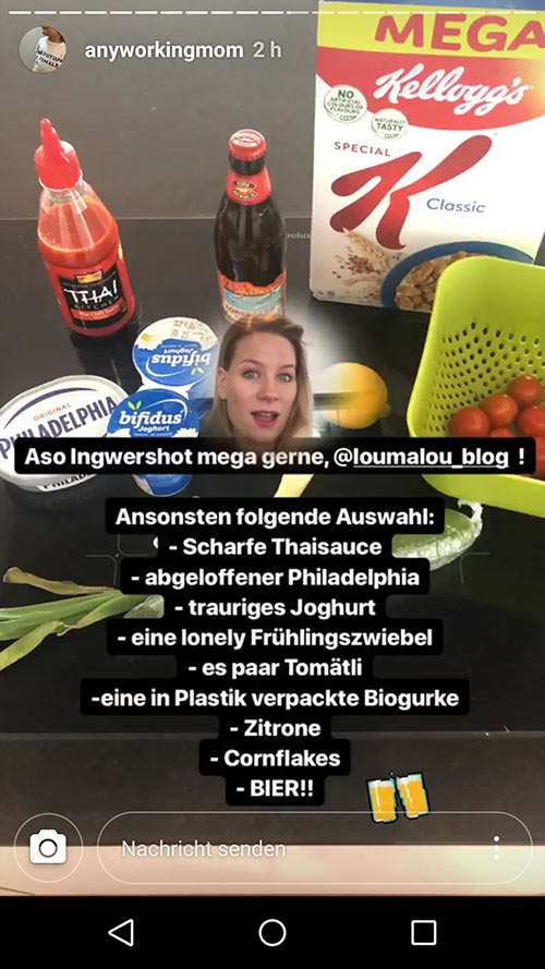 instagram story anyworkingmom loumalou 9 - Instagram Stories im Einsatz