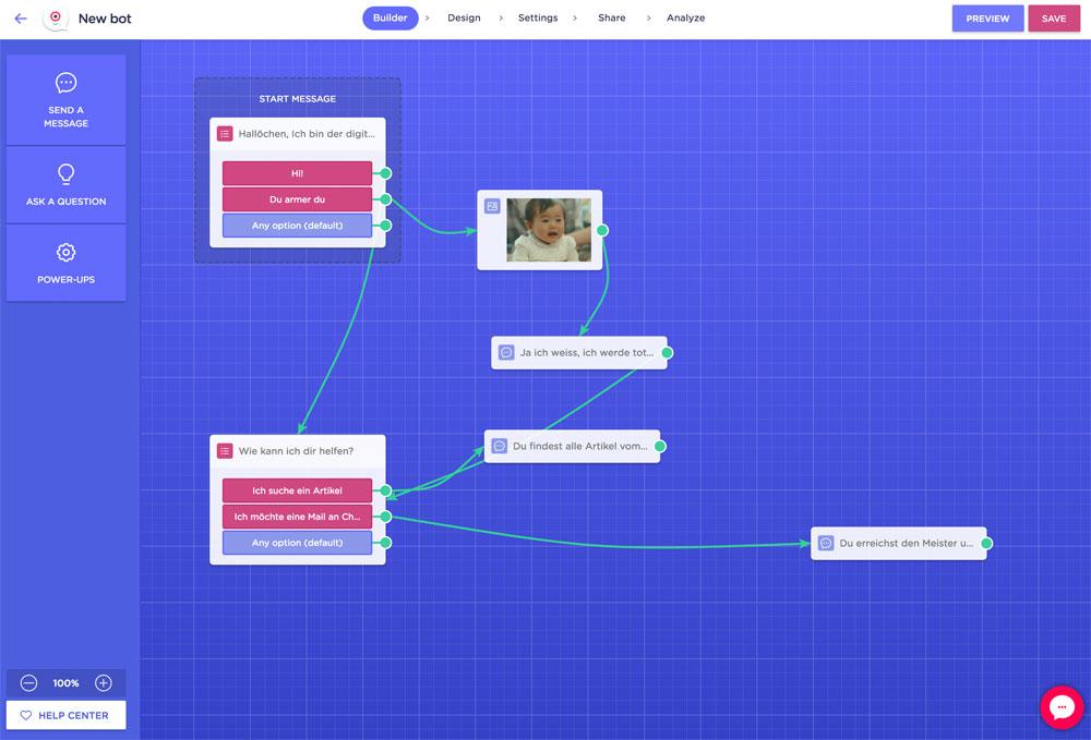 landbot 1 - Landbot.io - Mein absoluter Favorit von den Chatbot Lösungen im Internet