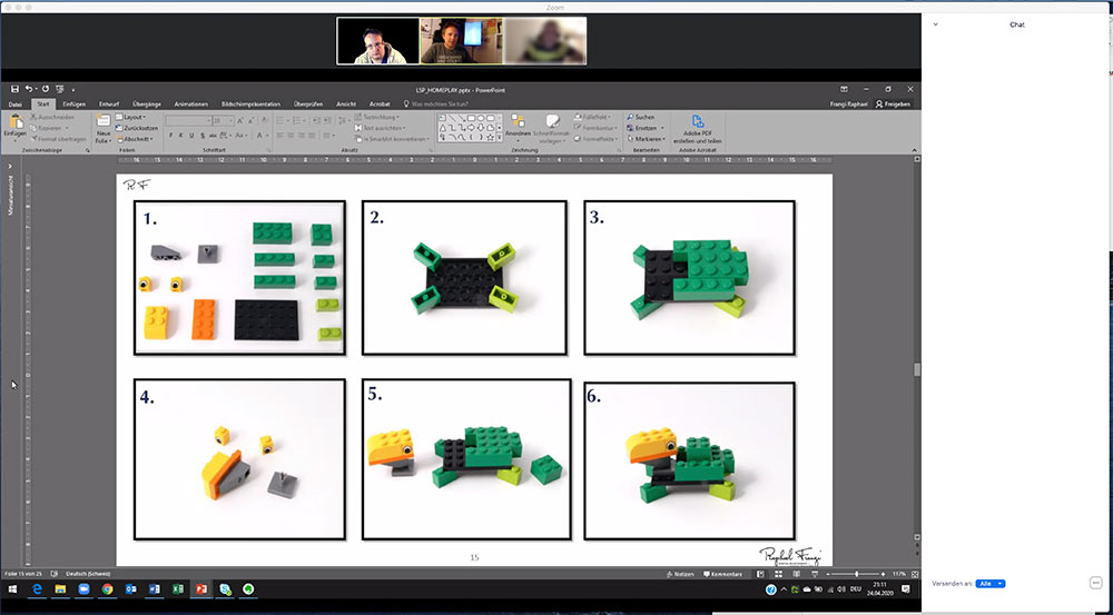 lego serious play frangi 2020 2 - LEGO® Serious Play®? Was ist denn das?