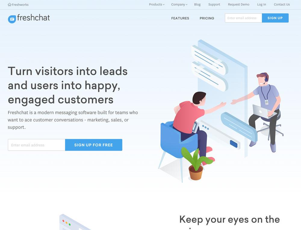 livechat freshchat - Top 11 der Live Chat Tool im Internet