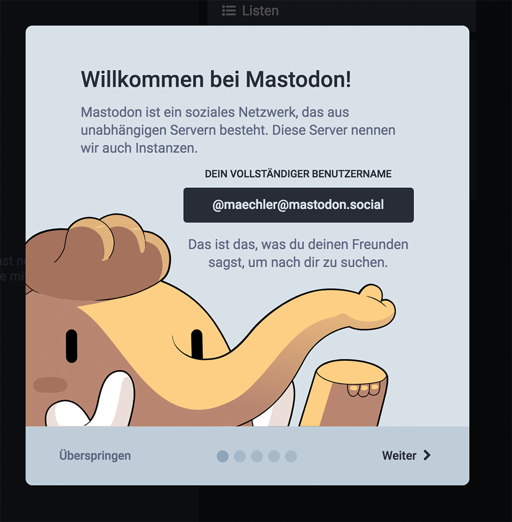 mastodon social media 1 - Mastodon der Facebook-Killer?