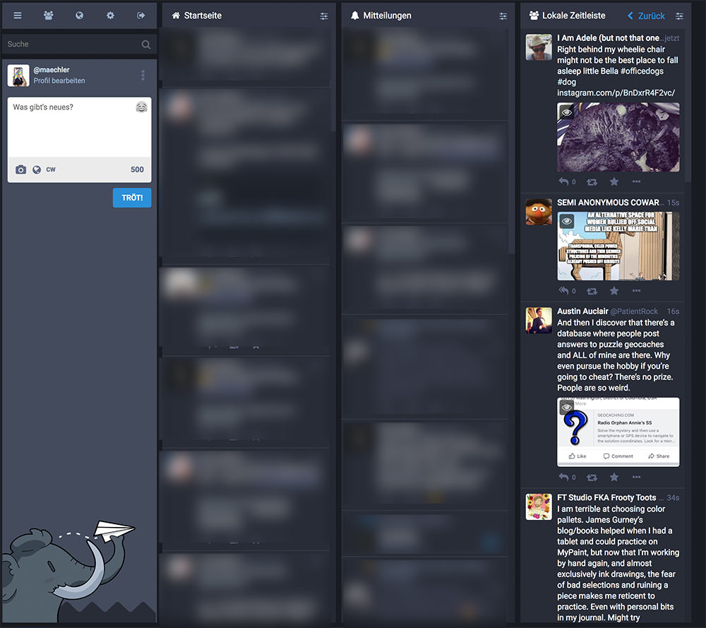mastodon social media 5 - Mastodon der Facebook-Killer?