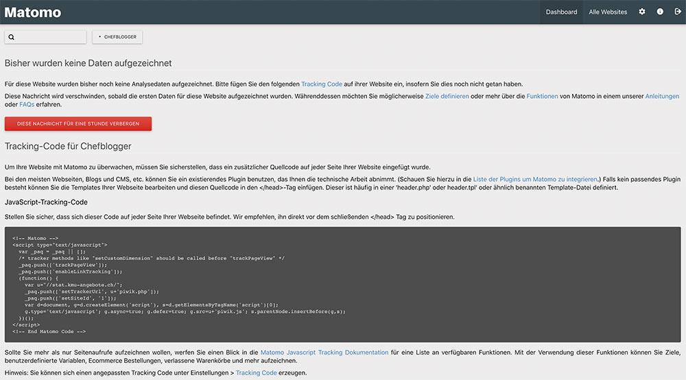 matomo install 11 - Anleitung: Wie installiert man Matomo (ehem. Piwik)