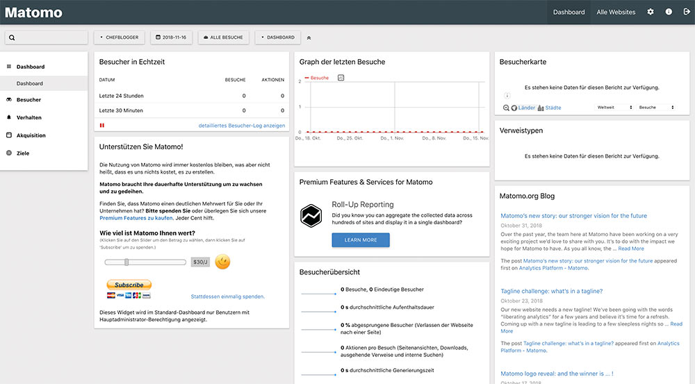 matomo install 12 - Anleitung: Wie installiert man Matomo (ehem. Piwik)