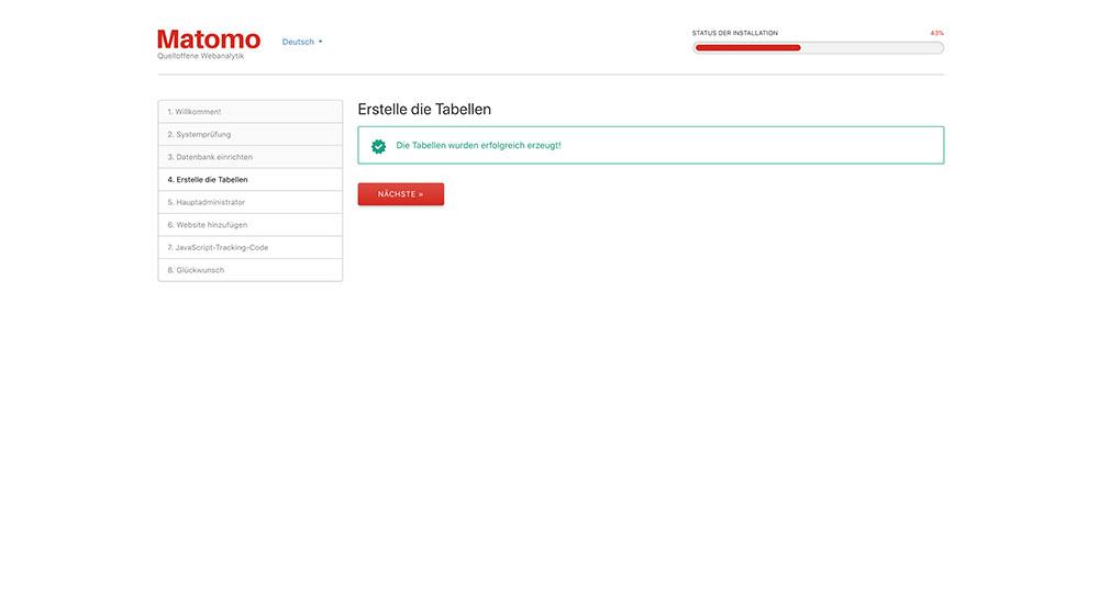 matomo install 5 - Anleitung: Wie installiert man Matomo (ehem. Piwik)
