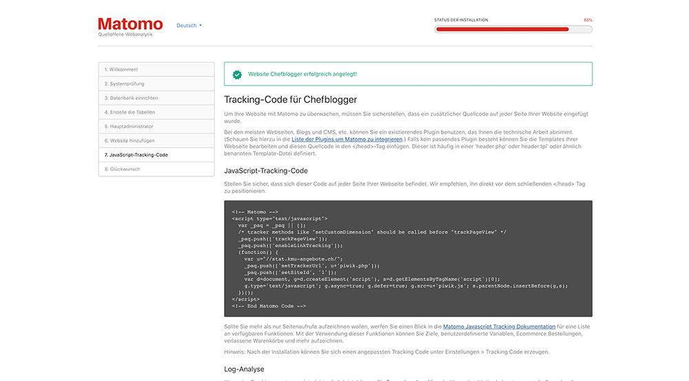 matomo install 8 - Anleitung: Wie installiert man Matomo (ehem. Piwik)