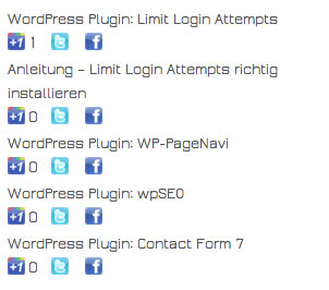 plugin mostsharedposts2 - WordPress Plugin: Most Shared Posts