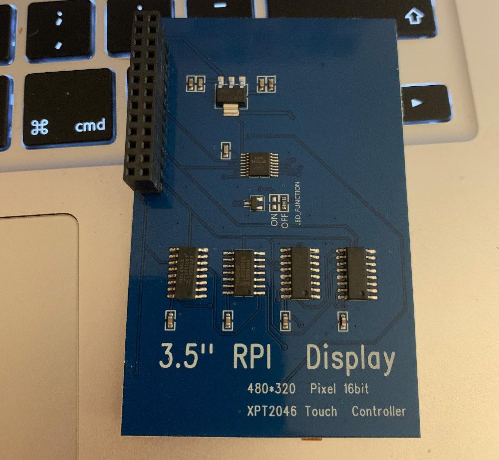 """raspberry pi case 3 5 zoll bildschirm 3 - Raspberry PI 4: Installation eines 3.5"""" LCD Touch Display"""