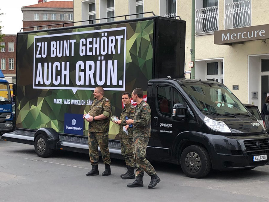 rp18 bundeswehr guerilla marketing kampagne - Die beste Guerilla Marketing Kampagne der Bundeswehr an der Re:publica #RP18