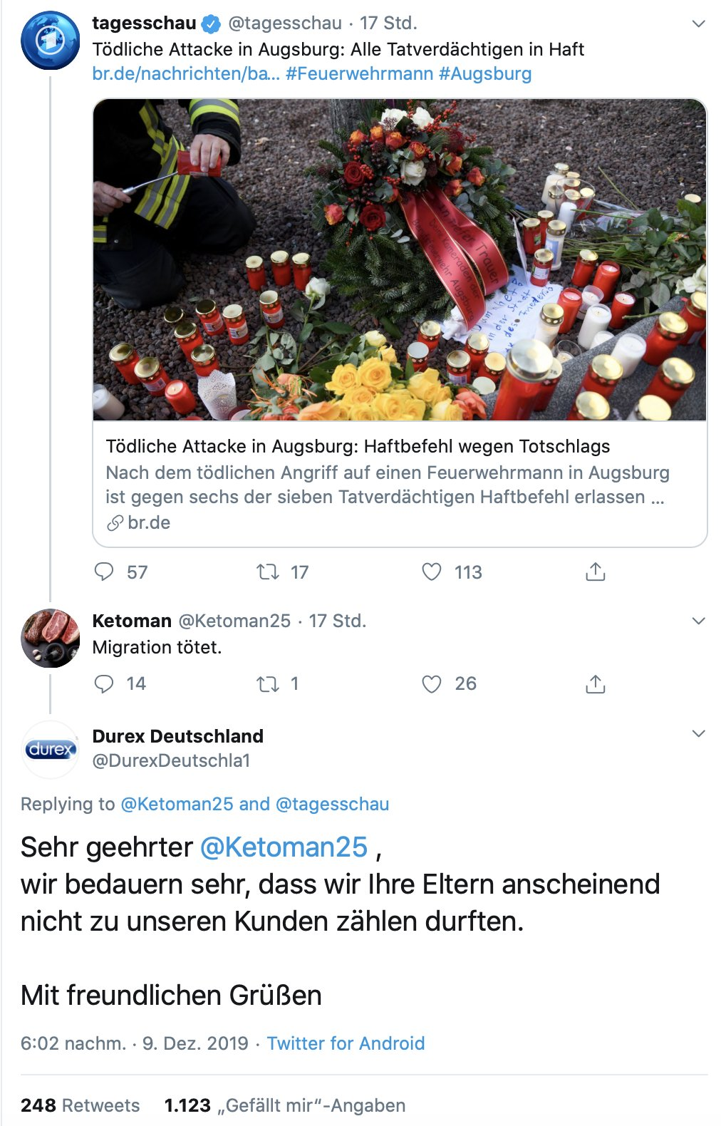 social media konter migration toetet - Migration tötet - der Social Media Konter des Jahres