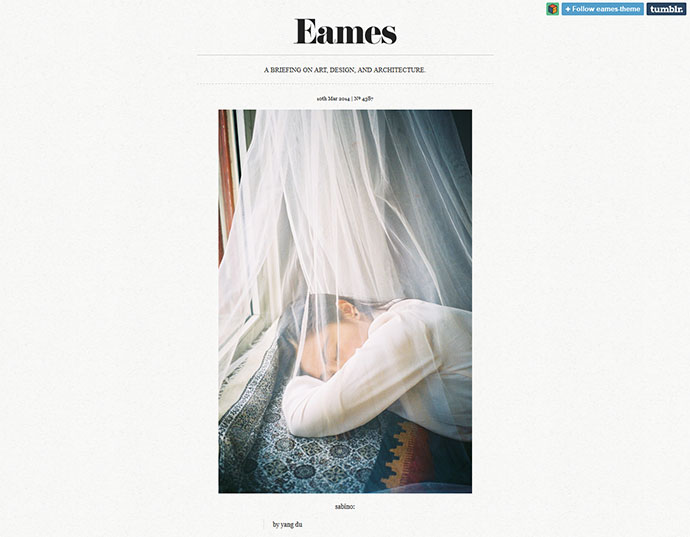 tumblr themes eames - 5 Geniale Tumblr Themes