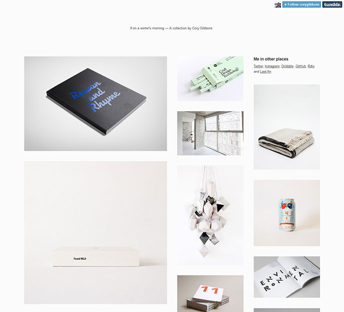 Yuki - Tumblr Theme