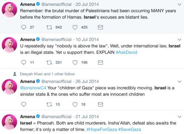tweets amena khan 2014 - Wie weit darf politisch korrekte Werbung gehen?