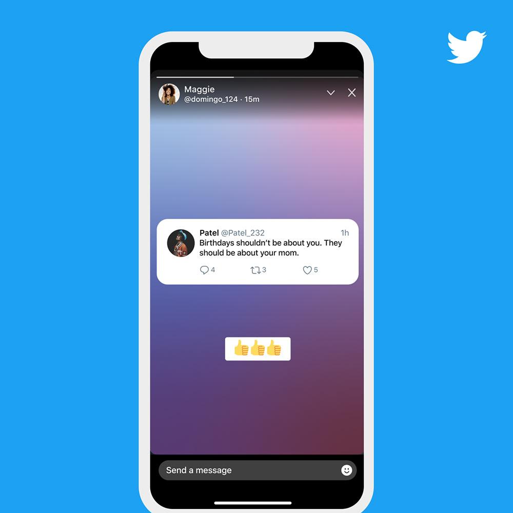 twitter fleets 1 - Twitter Fleets: Twitter kopiert die Instagram Storys