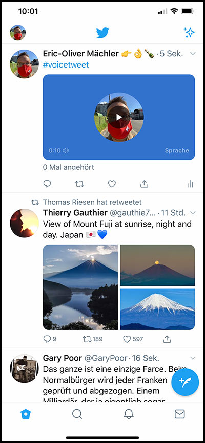 twitter voicetweets 7 - Voice Tweets - Your Tweet, your voice - sind nun auch angekommen