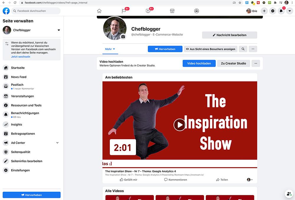 video hoster facebook - Video Hoster für Private oder Firmen