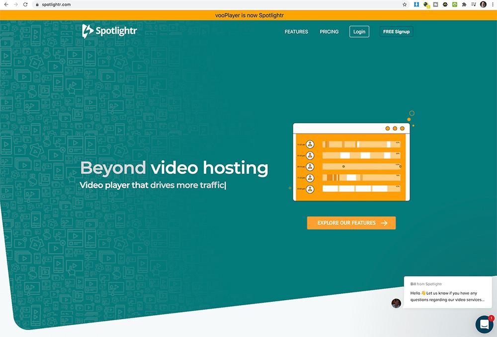 video hoster spotlightr - Video Hoster für Private oder Firmen
