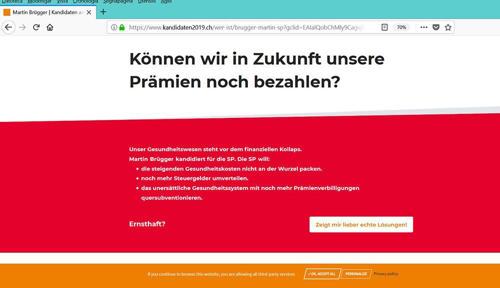 wahlkampf19 cvp negative kampagne 6 - Die CVP macht Negative Campaigning ist das ein guter Einsatz von Social Media? Schweizer Wahlkampf 2019