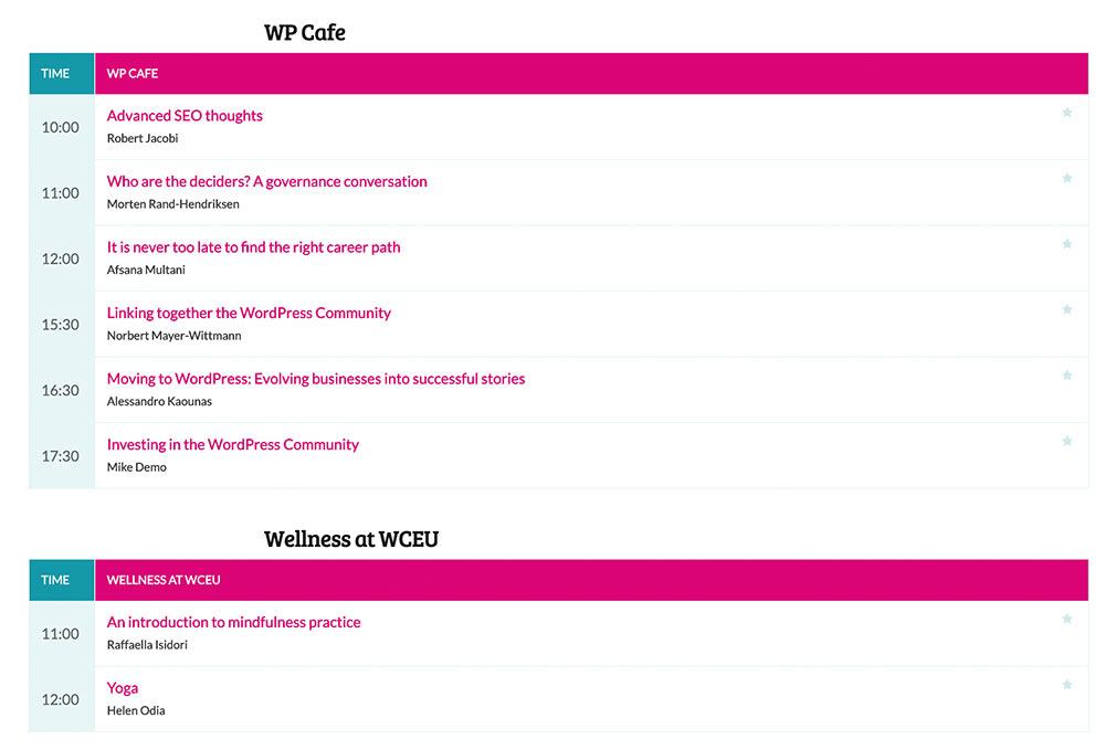 wceu 2019 day3 other sessions - WordCamp Europe 2019 - WordPress Konferenz – Tag 3 meines #InfluencerReisli