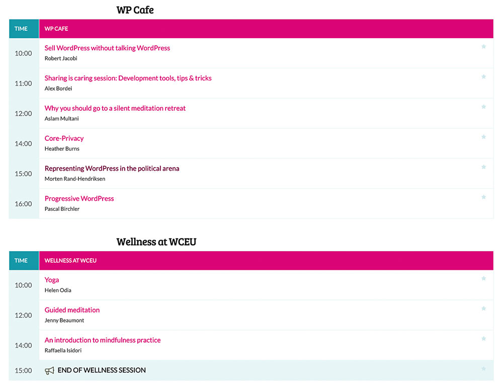 wceu 2019 day4 other sessions - WordCamp Europe 2019 - WordPress Konferenz – Tag 4 meines #InfluencerReisli