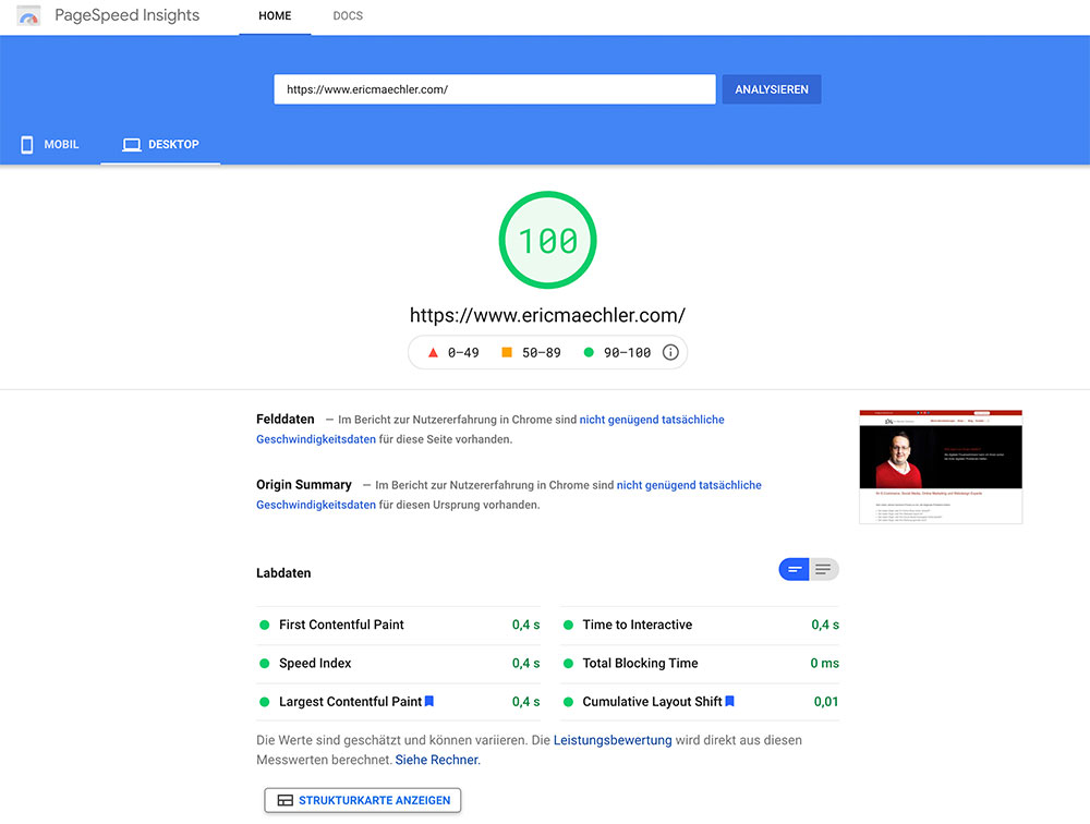 webgeschwindigkeit messen 1 - 5 Tools um die Ladezeit einer Webseite zu messen