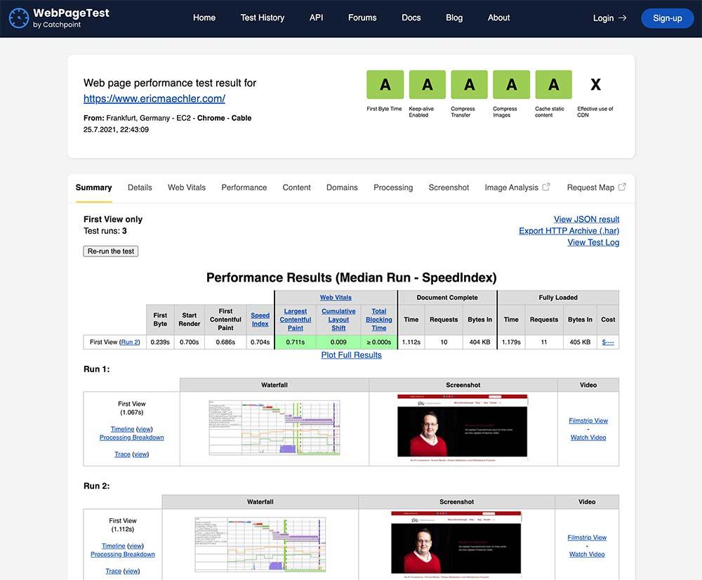 webgeschwindigkeit messen 5 - 5 Tools um die Ladezeit einer Webseite zu messen