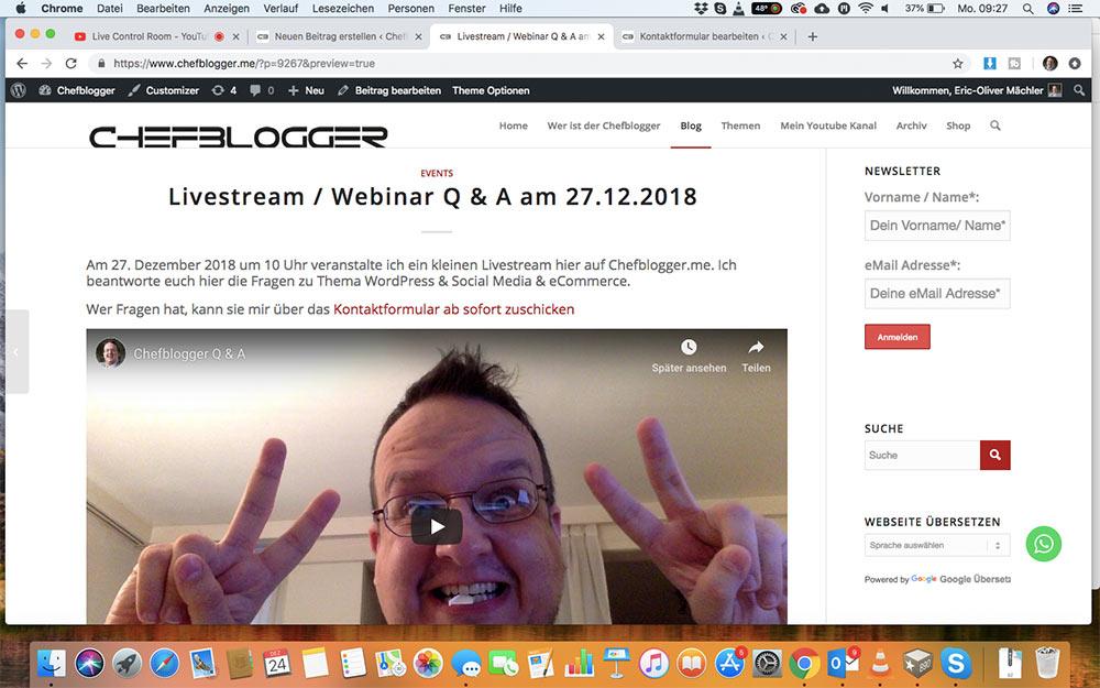 webinar livevideo mit youtube 10 - Ein Webinar mit Youtube machen - wie geht das?