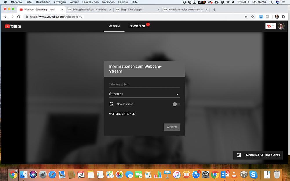 webinar livevideo mit youtube 11 - Ein Webinar mit Youtube machen - wie geht das?