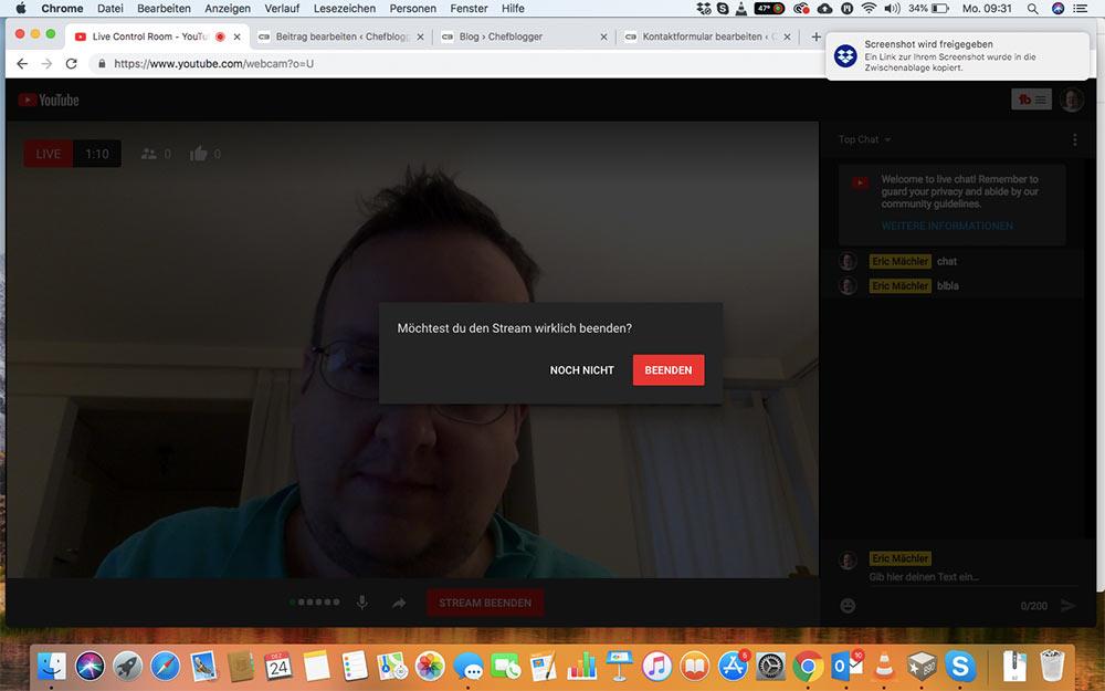 webinar livevideo mit youtube 15 - Ein Webinar mit Youtube machen - wie geht das?