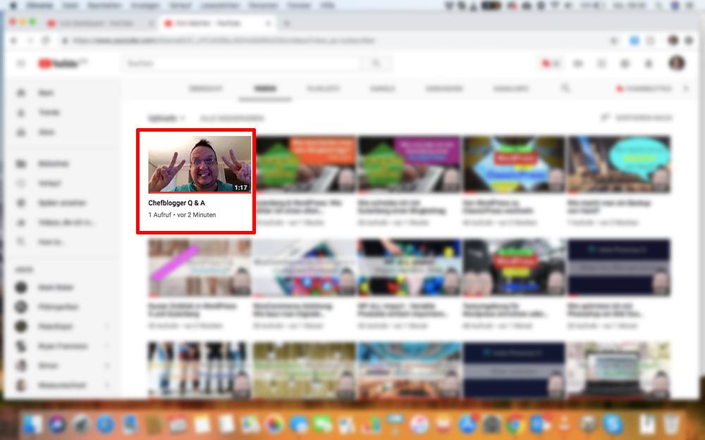 webinar livevideo mit youtube 18 - Ein Webinar mit Youtube machen - wie geht das?