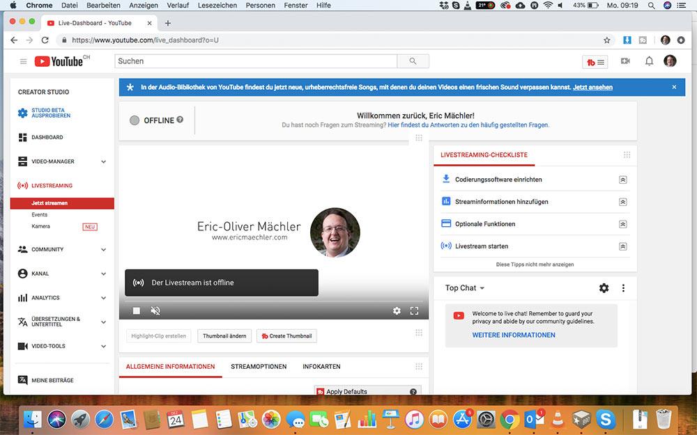 webinar livevideo mit youtube 3 - Ein Webinar mit Youtube machen - wie geht das?