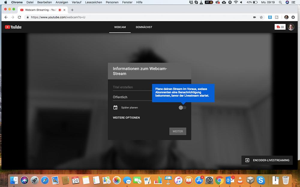 webinar livevideo mit youtube 4 - Ein Webinar mit Youtube machen - wie geht das?