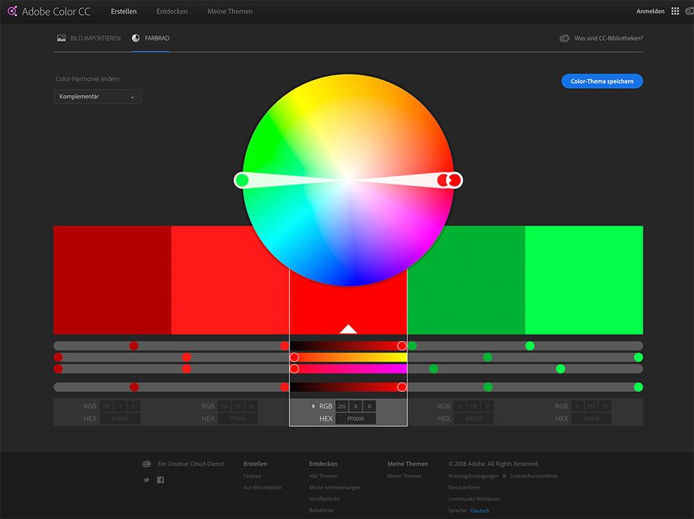 webseite farbgenerator 2018 7 - 12 Tools um die perfekten Farben für eure Webseiten zu finden