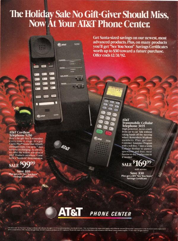 Werbung AT&T Telefon