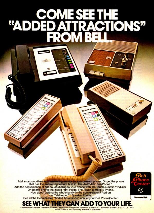 Werbung Bell