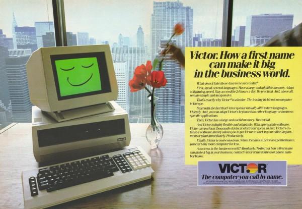 Werbung Victor