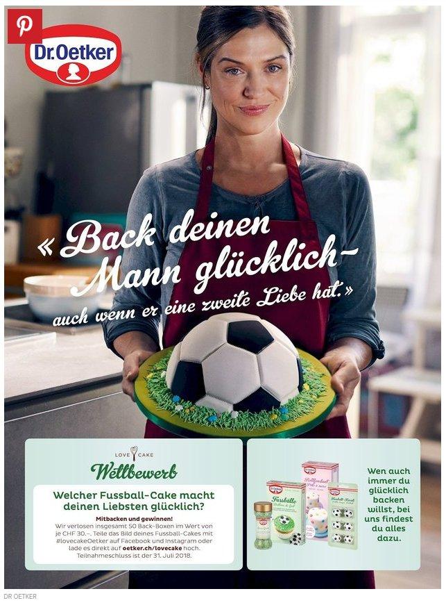 wm2018 fussball dr oetker werbung 1 - WM Werbung von Dr. Oetker erzürnt Social Media
