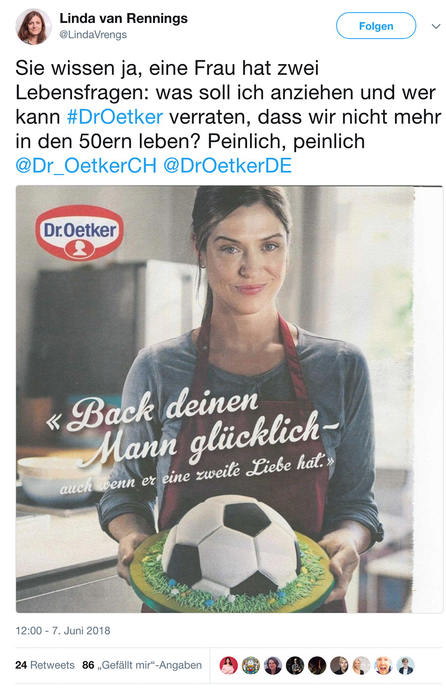 wm2018 fussball dr oetker werbung 3 - WM Werbung von Dr. Oetker erzürnt Social Media