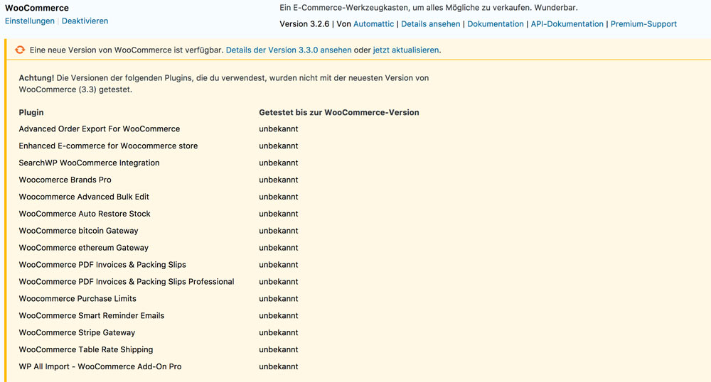 woocommerce 3 3 versionskontrolle - WooCommerce 3.3 wurde veröffentlicht