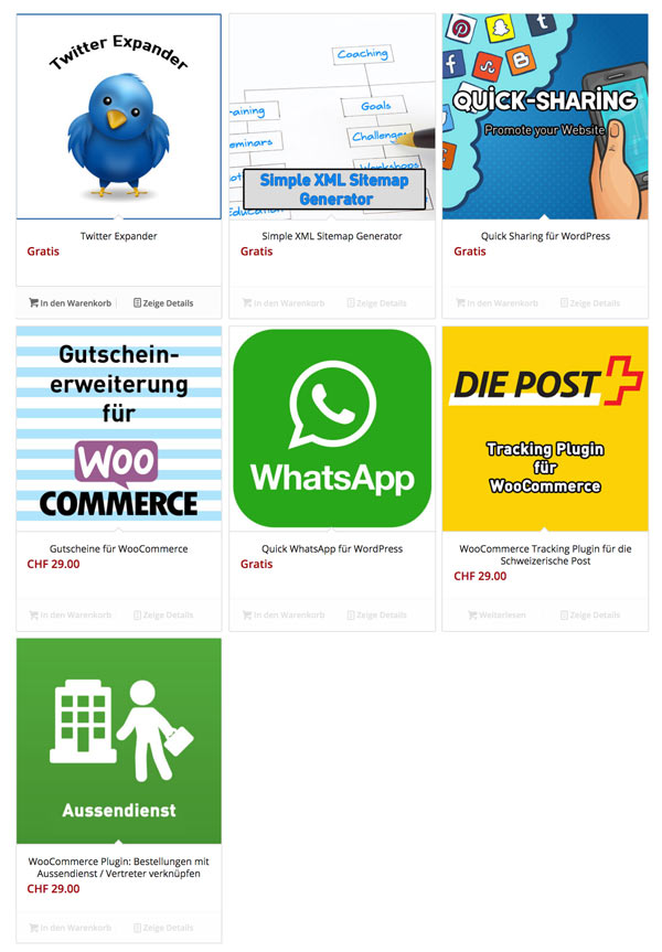 woocommerce produkte sortieren 2 - Anleitung WooCommerce: Wie sortiert man die Produkte von Hand