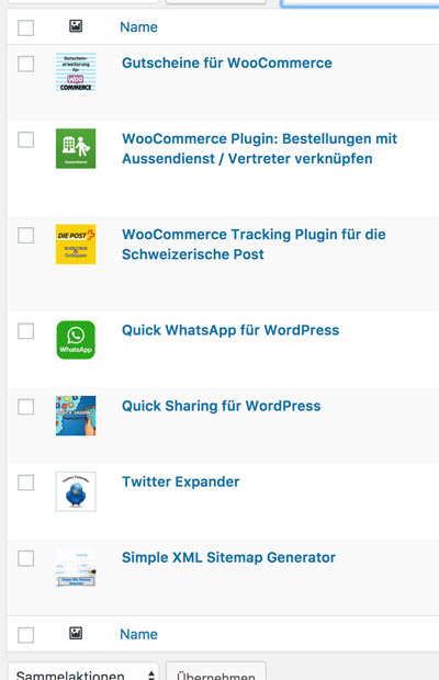 woocommerce produkte sortieren 6 - Anleitung WooCommerce: Wie sortiert man die Produkte von Hand