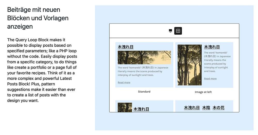 wordpress 5 8 bild 2 - WordPress Version 5.8 ist veröffentlicht worden